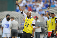 Panama Head Coach Julio Dely Valdes.   Panama defeated El Salvador in penalty kicks 5-3 in the quaterfinals for the 2011 CONCACAF Gold Cup , at RFK Stadium, Sunday June 19, 2011.