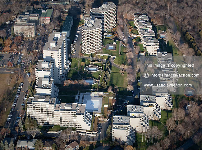 Jardins de Merici condo complex in Quebec city is pictured in this aerial photo November 11, 2009.