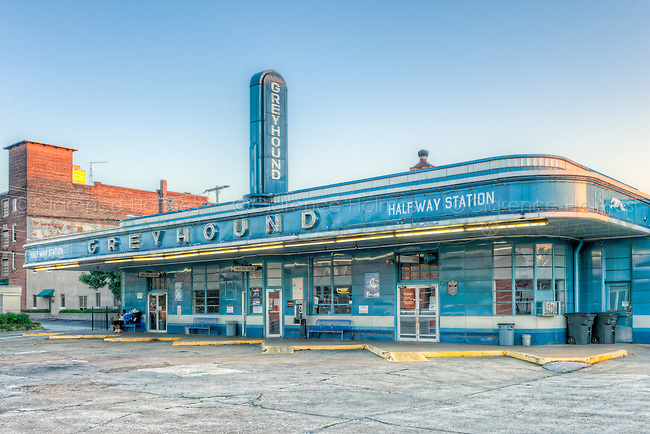 The historic Greyhound Bus Station in Jackson, Tennessee, built in 1938, is one of the oldest bus stations in the country still in active use. The station is listed in the National Register of Historic Places.