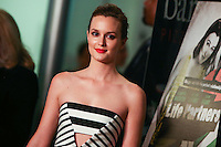 HOLLYWOOD, LOS ANGELES, CA, USA - NOVEMBER 18: Leighton Meester arrives at the Los Angeles Special Screening Of Magnolia Pictures' 'Life Partners' held at Arclight Hollywood on November 18, 2014 in Hollywood, Los Angeles, California, United States. (Photo by Xavier Collin/Celebrity Monitor)