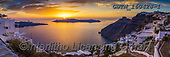 Tom Mackie, LANDSCAPES, LANDSCHAFTEN, PAISAJES, pano, photos,+Sunset from Fira, Santorini, Cyclades, Greece,Aegean, Cyclades, EU, Europa, Europe, European, Greece, Greek Islands, Mediterr+anean, Santorini, Tom Mackie, caldera, coast, coastal, coastline, coastlines, dramatic outdoors, holiday destination, horizon+tal, horizontals, island, landscape, landscapes, panorama, panoramic, sea, sunrise, sunset, time of day, tourism, tourist att+raction, village, villages, white washed+,GBTM160428-1,#l#, EVERYDAY