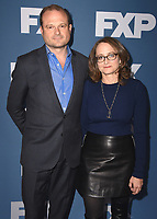 PASADENA, CA - JANUARY 5:  Executive Producers Brad Simpson and Nina Jacobson at the 2018 FX Networks Winter TCA Star Walk at The Langham Huntington Hotel and Spa on January 5, 2018 in Pasadena, California. (Photo by Scott Kirkland/FX/PictureGroup)