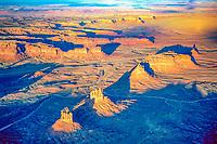 Valley of the Gods, Bears Ears National Monument, Utah , Buttes near Cedar Mesa