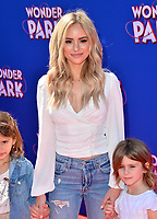 LOS ANGELES, CA. March 10, 2019: Amanda Stanton, Kinsley Buonfiglio &amp; Charlie Buonfiglio at the premiere of &quot;Wonder Park&quot; at the Regency Village Theatre.<br /> Picture: Paul Smith/Featureflash