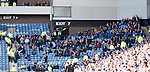 Falkirk's travelling fans packing out the away end at Ibrox. Watch out Hampden!