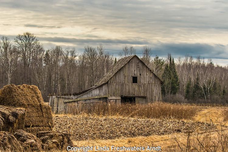 Farmstead in northern Wisconsin