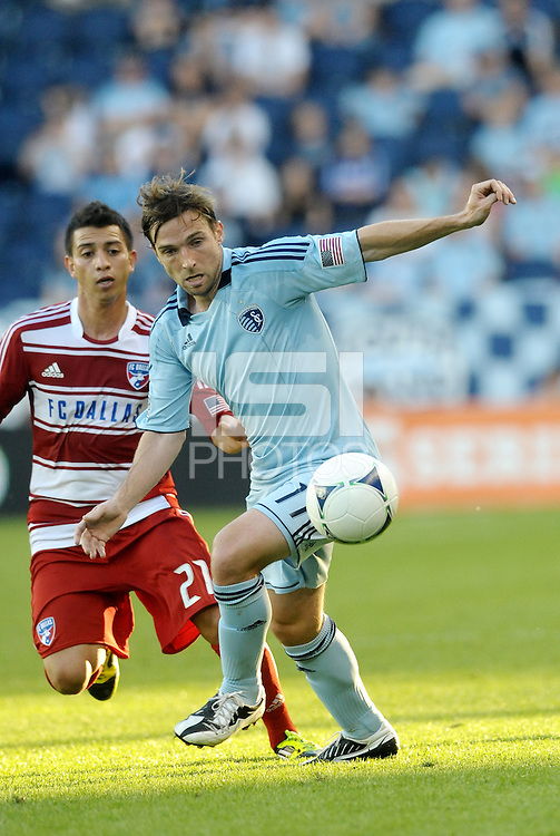 Bobby Convey (11) Sporting KC midfieder in action... Sporting Kansas City defeated FC Dallas 2-1 at LIVESTRONG Sporting Park, Kansas City, Kansas.