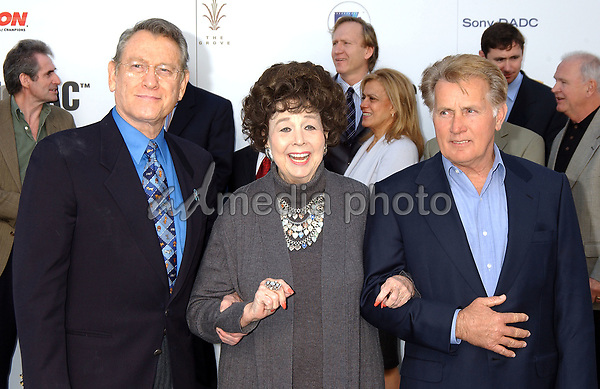 08 February 2005 - Los Angeles, California - Earl Holliman, Jane Withers and Martin Sheen. James Dean 50th Anniversary Year Global Media Event held at Pacific Theatre launching a year-long commemorative tribute to James Dean. Warner Home Video will debut a documentary 'James Dean: Forever Young'  at Cannes 2005. Photo Credit: Laura Farr/AdMedia