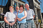 Members of Tarbert Development Association pictured last Saturday at The Bridewell, Courthouse. l-r: Joan Murphy, John Fox, Patricia Griffin and Michael Lanigan