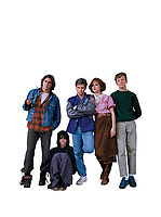 The Breakfast Club (1985) <br /> Molly Ringwald, Emilio Estevez, Anthony Michael Hall, Ally Sheedy &amp; Judd Nelson<br /> *Filmstill - Editorial Use Only*<br /> CAP/KFS<br /> Image supplied by Capital Pictures
