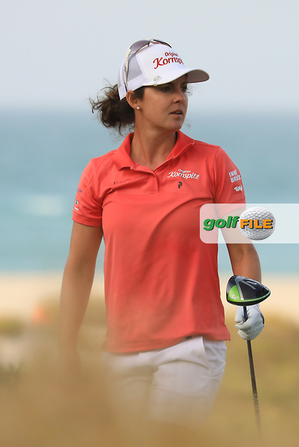 Christine Wolf (AUT) during the first round of the Fatima Bint Mubarak Ladies Open played at Saadiyat Beach Golf Club, Abu Dhabi, UAE. 10/01/2019<br /> Picture: Golffile | Phil Inglis<br /> <br /> All photo usage must carry mandatory copyright credit (&copy; Golffile | Phil Inglis)