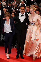 CANNES, FRANCE -  Elle Fanning and Alejandro Gonzalez  attends 'The Dead don't Die' premiere during the 72nd annual Cannes Film Festival on May 14, 2019 in Cannes, France. <br /> CAP/GOL<br /> &copy;GOL/Capital Pictures