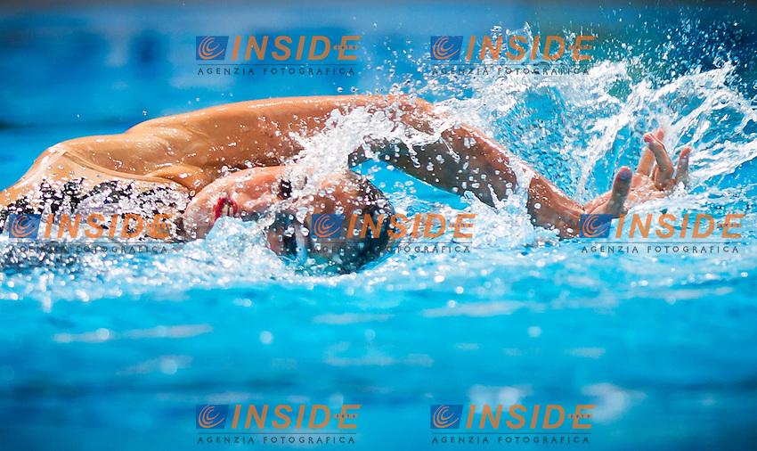 Linda Cerruti ITA<br /> Synchronized swimming<br /> Solo Final<br /> 15th FINA World Aquatics Championships<br /> Barcelona 19 July - 4 August 2013<br /> Palau Sant Jordi, Barcelona (Spain) 24/07/2013 <br /> &copy; Giorgio Perottino / Deepbluemedia.eu / Insidefoto