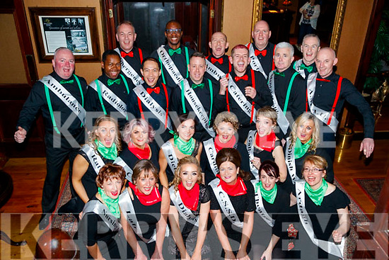 Dancer's before taking the floor at the Sickly Come Dancing, UHK, at Ballygarry House Hotel & Spa, Tralee on Friday night last.