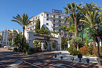 Hotel H10 Nueva Andalucia, Casino, Puerto Banus, Spain. November, 2017, 201711244045<br /><br />Copyright Image from Victor Patterson, 54 Dorchester Park, <br />Belfast, UK, BT9 6RJ<br /><br />t1: +44 28 9066 1296 (from Rep of Ireland 048 9066 1296)<br />t2: +44 28 9002 2446 (from Rep of Ireland 048 9002 2446)<br />m: +44 7802 353836<br /><br />e1: victorpatterson@me.com<br />e2: victorpatterson@gmail.com<br /><br />www.victorpatterson.com<br /><br />Please see my Terms and Conditions of Use at www.victorpatterson.com. It is IMPORTANT that you familiarise yourself with them.<br /><br />Images used on the Internet must be visibly watermarked i.e. © Victor Patterson within the body of the image and copyright metadata must not be deleted. Images used on the Internet have a size restriction of 4kbs and will be chargeable at current NUJ rates unless agreed otherwise.<br /><br />This image is only available for the use of the download recipient i.e. television station, newspaper, magazine, book publisher, etc, and must not be passed on to any third party. It is also downloaded on condition that each and every usage is notified within 7 days to victorpatterson@me.com<br /><br />The right of Victor Patterson to be identified as the author is asserted in accordance with The Copyright Designs And Patents Act (1988).