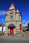 Historic building of Marazion town hall, Cornwall, England, UK
