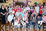 Key OF The Door: Denise Hartnett from Manor Village (seated centre), having a wonderful time with friends and family at her 21st birthday party in Austin Stacks Clubhouse on Saturday night..