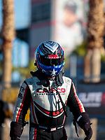 Nov 1, 2019; Las Vegas, NV, USA; NHRA top fuel driver Steve Torrence during qualifying for the Dodge Nationals at The Strip at Las Vegas Motor Speedway. Mandatory Credit: Mark J. Rebilas-USA TODAY Sports