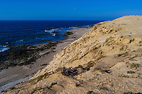 Coastline. The Souss-Massa National Park on the Atlantic coast of Morocco was established in 1991.