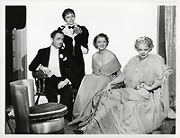 The Great Ziegfeld (1936) <br /> Promo shot of William Powell, Myrna Loy, Luise Rainer &amp; Virginia Bruce<br /> *Filmstill - Editorial Use Only*<br /> CAP/MFS<br /> Image supplied by Capital Pictures