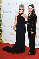 Lorraine Ashbourne and daughter, Ruby Serkis<br /> BAFTA Film Awards 2020 nominees party, Kensington Palace, London.<br /> <br /> ©Ash Knotek  D3553 01/02/2020