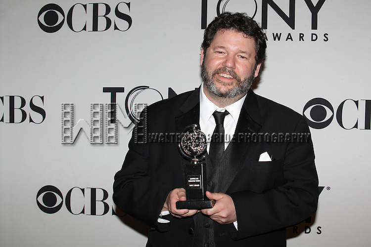 Darron L. West pictured at the 66th Annual Tony Awards held at The Beacon Theatre in New York City , New York on June 10, 2012. © Walter McBride / WM Photography