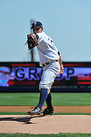 Staten Island Yankees pitcher Bryan Mitchell #33 during a game against the State College Spikes at Richmond County Bank Ballpark at St. George on July 14, 2011 in Staten Island, NY.  Staten Island defeated State College 6-4.  Tomasso DeRosa/Four Seam Images