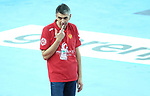 13.01.2018., Croatia, Arena Zagreb, Zagreb - European Handball Championship, Group C, Round 1, Germany - Montenegro.  DJUKIC Dragan <br /> <br /> Foto &copy; nordphoto / Sanjin Strukic/PIXSELL