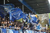 Fans des SV Darmstadt 98 - 28.10.2017: SV Darmstadt 98 vs. Holstein Kiel, Stadion am Boellenfalltor, 2. Bundesliga