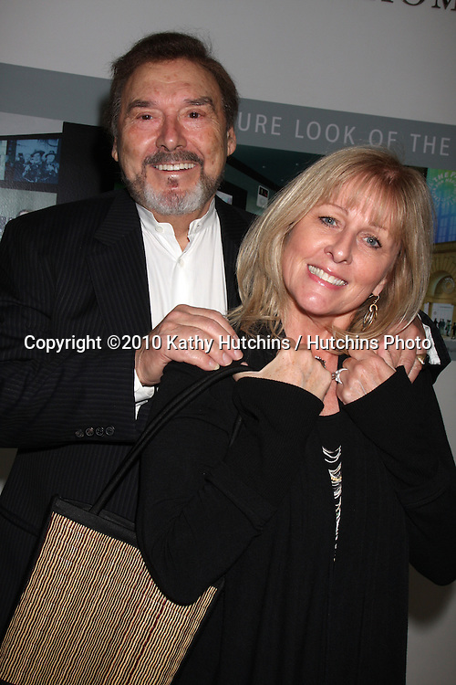 Joe Mascolo & Wife.arriving at the Ken Corday Days of Our Lives Book Launch Party.Paley Center for Media.Beverly Hills, CA.April 29, 2010.©2010 Kathy Hutchins / Hutchins Photo...