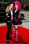 LOS ANGELES, CA. - September 13: Kynt and Vyxsin arrive at the 60th Primetime Creative Arts Emmy Awards held at Nokia Theatre on September 13, 2008 in Los Angeles, California.