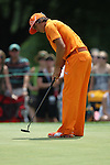 May 8,2011 - Rickie Fowler on six.  Lucas Glover wins the tournament in sudden death over Jonathan Byrd at Quail Hollow Country Club,Charlotte,NC.