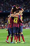 2013-10-05-FC Barcelona vs R. Valladolid: 4-1.