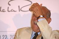 M&eacute;xico, D.F.- 22mar2013 &ndash; Four Season Hotel<br /> El dise&ntilde;ador dominicano &Oacute;scar de la Renta, ofrece una conferencia de prensa, previo al desfile de su colecci&oacute;n Primavera-Verano.<br /> Photo: Francisco Morales/DAMMPHOTO.COM