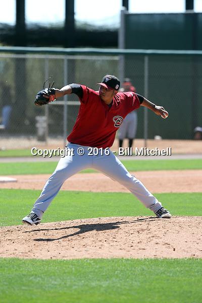 Anfernee Benitez - Arizona Diamondbacks 2016 spring training (Bill Mitchell)