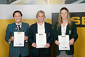 Swimming Girls Finalists. ASB College Sport Young Sportsperson of the Year Awards 2006, held at Eden Park on Thursday 16th of November 2006.<br />