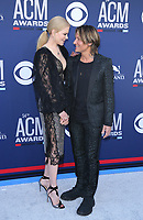 07 April 2019 - Las Vegas, NV - Nicole Kidman, Keith Urban. 2019 ACM Awards at MGM Grand Garden Arena, Arrivals.<br /> CAP/ADM/MJT<br /> &copy; MJT/ADM/Capital Pictures