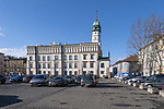 2020-02-18 Kraków. Ratusz na Placu Wolnica na Krakowskim Kazimierzu.