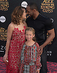 "Allison Holker,Twitch and daughter attends The Premiere Of Disney's ""Alice Through The Looking Glass"" held at The El Capitan Theatre  in Hollywood, California on May 23,2016                                                                               © 2016 Hollywood Press Agency"