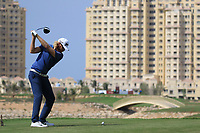 Sebastian Soderberg (SWE) during round 2, Ras Al Khaimah Challenge Tour Grand Final played at Al Hamra Golf Club, Ras Al Khaimah, UAE. 01/11/2018<br /> Picture: Golffile | Phil Inglis<br /> <br /> All photo usage must carry mandatory copyright credit (&copy; Golffile | Phil Inglis)