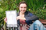 Colaiste Ide student Caitriona Nic Bhloscaidh, from Dingle.