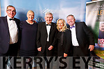 Picture at the Black Tie Event in aid of Waterville GAA & Local Charities in the Sea Lodge, Waterville on Sunday night were l-r Sean & Aoife O'Shea, Mick O'Dwyer, Katie & David Farrell.