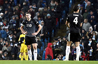 Burnley's James Tarkowski looks dejected after going 3-0 down<br /> <br /> Photographer Rich Linley/CameraSport<br /> <br /> Emirates FA Cup Fourth Round - Manchester City v Burnley - Saturday 26th January 2019 - The Etihad - Manchester<br />  <br /> World Copyright © 2019 CameraSport. All rights reserved. 43 Linden Ave. Countesthorpe. Leicester. England. LE8 5PG - Tel: +44 (0) 116 277 4147 - admin@camerasport.com - www.camerasport.com