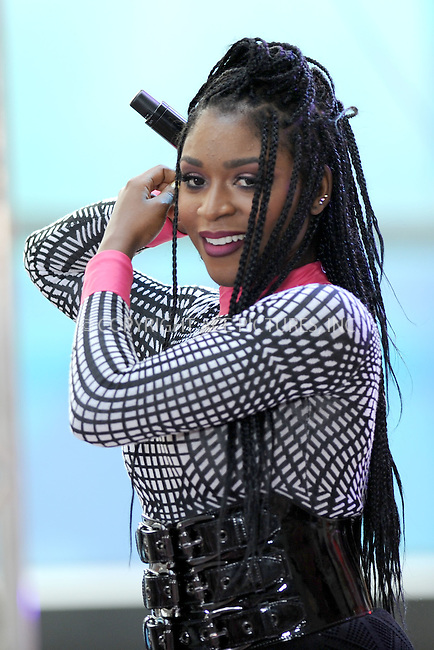 WWW.ACEPIXS.COM<br /> July 10, 2015 New York City<br /> <br /> Normani Hamilton of Fifth Harmony performing in Concert on NBC's 'Today' at Rockefeller Plaza on July 10, 2015 in New York City.<br /> <br /> Credit: Kristin Callahan/ACE Pictures<br /> Tel: (646) 769 0430<br /> e-mail: info@acepixs.com<br /> web: http://www.acepixs.com