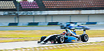 ZHUHAI, CHINA - SEPTEMBER 19:Aidan Read of Australia and Eurasia Motorsport drives during the Formula Masters China Series as part of the 2015 Pan Delta Super Racing Festival at Zhuhai International Circuit on September 19, 2015 in Zhuhai, China.  Photo by Moses Ng/Power Sport Images