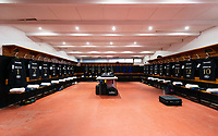 A general view of the away changing rooms prior to the match. Heineken Champions Cup match, between Stade Toulousain and Bath Rugby on January 20, 2019 at the Stade Ernest Wallon in Toulouse, France. Photo by: Patrick Khachfe / Onside Images