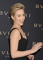 WWW.BLUESTAR-IMAGES.COM  Actress Dianna Agron arrives at the BVLGARI 'Decades Of Glamour' Oscar Party Hosted By Naomi Watts at Soho House on February 25, 2014 in West Hollywood, California.<br /> Photo: BlueStar Images/OIC jbm1005  +44 (0)208 445 8588