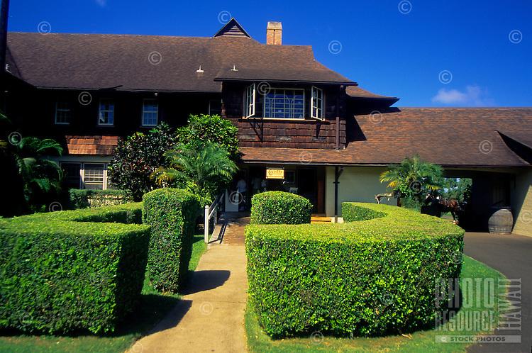 Kilohana Plantation restaurant,shop and museum, Near Lihue, Kauai
