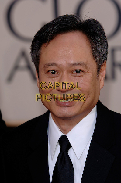 ANG LEE.HFPA 63rd Golden Globe Awards at The Beverly Hills Hilton, Beverly Hills, California, USA..January 16th, 2006.Ref: PL .globes headshot portrait.www.capitalpictures.com.sales@capitalpictures.com.©Phil Loftus/Capital Pictures