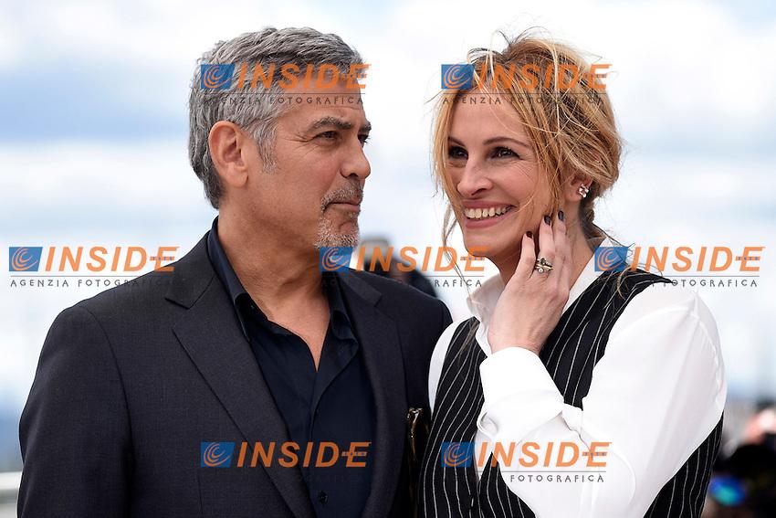George Clooney - Julia Roberts<br /> Festival di Cannes 2016 <br /> Foto Panoramic / Insidefoto